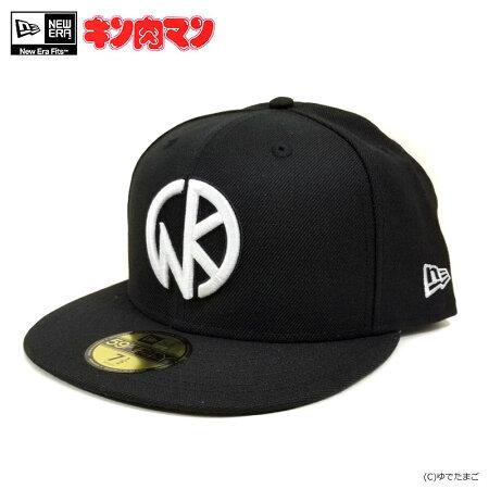 【キン肉マン】NEWERA×キン肉マン/59FIFTY/KINマーク40th(ブラック)