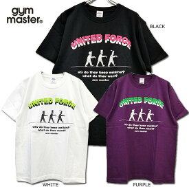 gym master(ジムマスター) /G279649/UNITED FORCE TEE/半袖Tシャツ