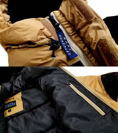 MARKGONZALES(マーク・ゴンザレス)/フーデッドパフジャケット/2G5-5928