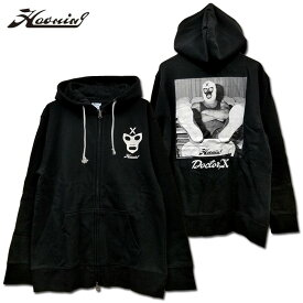 HAOMING(ハオミン)/Doctor X×HAOMING HOODIE /ジップアップパーカー