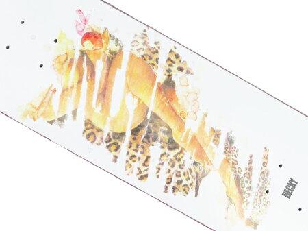 【スケボー/スケートボード/パーツ】BECKYFACTORY(ベッキーファクトリー)GIRL#2/8.12インチデッキ/幅20.6cm×長さ80.4cm
