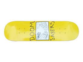 【スケボー/スケートボード/パーツ】DOOM SAYERS(ドゥームセイヤーズ)SNAKE SHAKE OG YELLOW / 8.08インチデッキ/ 幅20.7cm×長さ80.8cm
