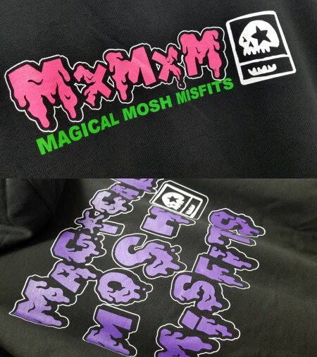 【MxMXM】MAGICALMOSHMISFITS(マジカルモッシュミスフィッツ)/DORODOROMOSHMISFITSHOODIE/プルオーバーパーカー