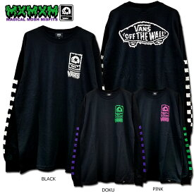 "【MxMXM】MAGICAL MOSH MISFITS(マジカル モッシュ ミスフィッツ)/VANS x MxMxM ""MAGICAL VANS MISFITS"" LONG TEE/長袖Tシャツ"