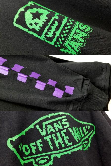 """【MxMXM】MAGICALMOSHMISFITS(マジカルモッシュミスフィッツ)/VANSxMxMxM""""MAGICALVANSMISFITS""""LONGTEE/長袖Tシャツ"""