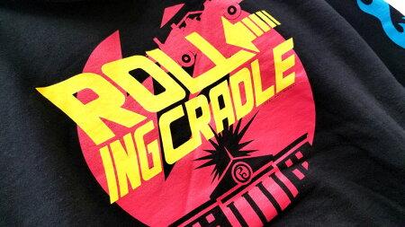 【ロリクレ】ROLLINGCRADLE(ローリングクレイドル)/TIMETRAVELHOODIE[Black]/クルースウェット/トレーナー