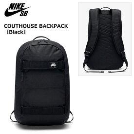 【スケートボード/スケボー/バックパック】NIKE SB COURTHOUSE BACKPACK /BA5305-010[Black×Black]