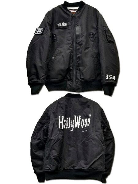 HollywoodMA-1.JACKET/ハリウッドザコシショウ/墓場の画廊