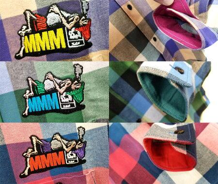 【MxMXM】MAGICALMOSHMISFITS(マジカルモッシュミスフィッツ)/寝るシャツ/長袖シャツ
