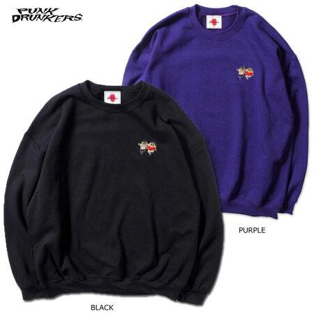 【予約】PUNKDRUNKERS(パンクドランカーズ)/PDS×クレヨンしんちゃん/友達だゾトレーナー/2月入荷予定