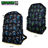 "【MxMXM】MAGICALMOSHMISFITS(マジカルモッシュミスフィッツ)/SANTACRUZxMxMxM""MAGICALSCREAMINGHAND""BACKPACK/バックパック/バッグ/リュック/BACKPACK/BAG"