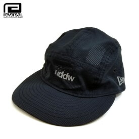 reversal(リバーサル)/キャップ/NEW ERA×rvddw JET CAP TECH AIR[Black]