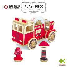 プレイデコ(PLAY-DECO)FIRETRUCK(消防車)