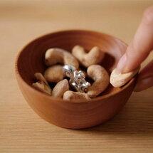 nutspool(ナッツプール)カップ【2種類展開】シンプルなウッドベースの可愛いナッツボウル