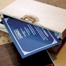 """CardChest(カードチェスト)名刺入れ【18種類】""""名刺を大切に収納できる小さな家具""""をコンセプトカードケース"""
