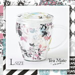 Teamatealacarte(Lサイズ)耐熱ガラス/茶こし付きCEMENT