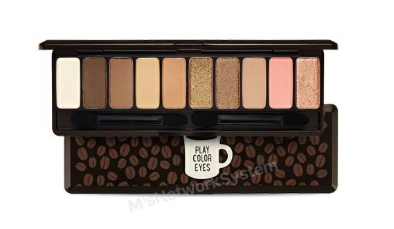 2017NEW エチュードハウス プレーカラーアイズ #イン・ザ・カフェ 韓国コスメETUDE HOUSE Play Color Eyes #In the Cafe