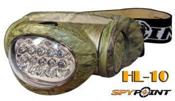 スパイポイント10LEDヘッドランプHL-10