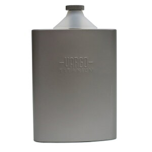 バーゴ/VARGO チタン/チタニウム ファンネル フラスコ 水筒 T-447