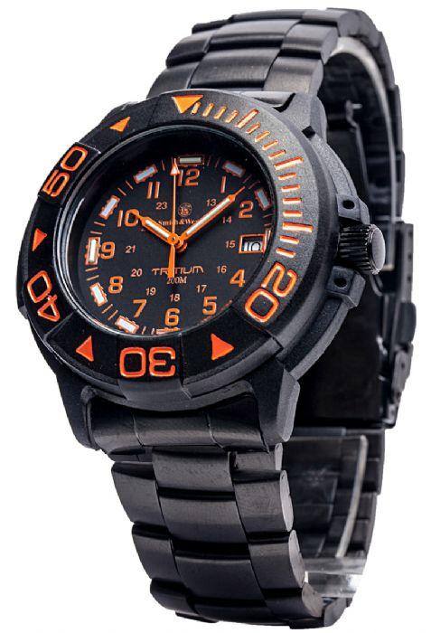 【特価】【正規品】スミス&ウェッソン/S&W DIVER ダイバー ウォッチ 発光トリチウム 腕時計 SW900OR【送料無料】
