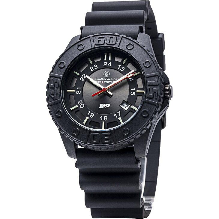 【特価】【正規品】スミス&ウェッソン S&W M&P ウォッチ 発光トリチウム 腕時計 SWMP18bk【送料無料】