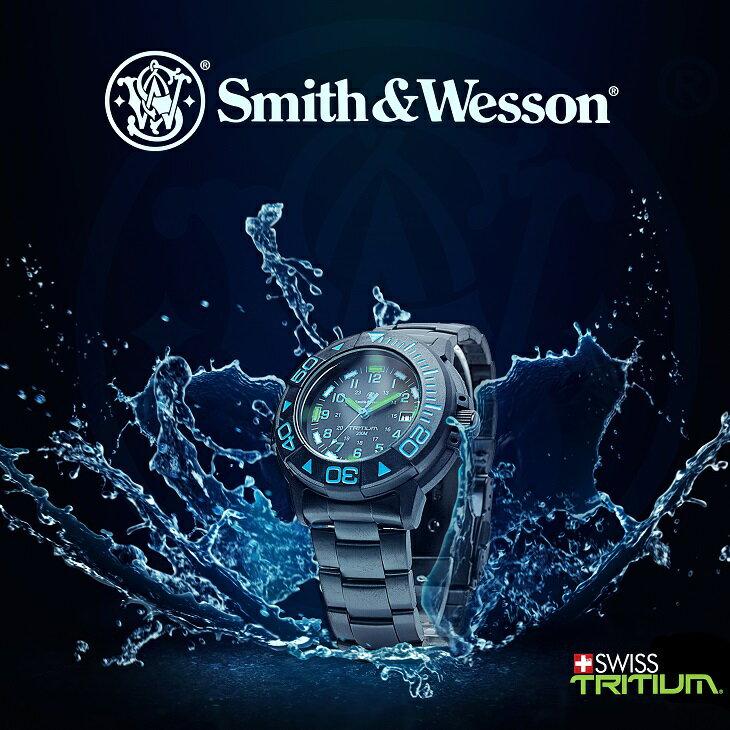 【特価】【正規品】スミス&ウェッソン/S&W DIVER ダイバー ウォッチ 発光トリチウム 腕時計 SW900BL【送料無料】