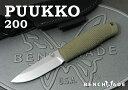 【日本正規品】 BENCHMADE/ベンチメイド 200 プッコ シースナイフ, PUUKKO Sheath knife