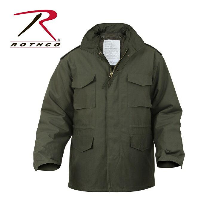 【正規品】ロスコ/ROTHCO M-65 フィールド ジャケット OD XS 8238【送料無料】
