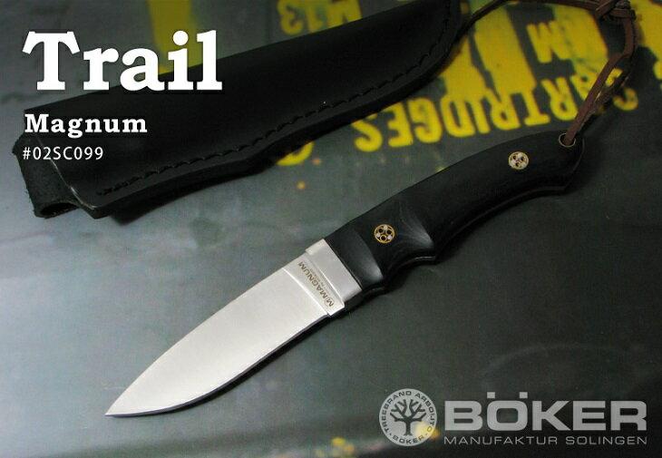 【日本正規品】BOKER Magnum/ボーカー マグナム #02SC099 トレイル シースナイフ
