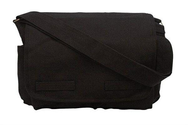 【正規品】ロスコ/ROTHCO HW クラシック メッセンジャーバッグ 黒(24 ジャック・バウアーモデル) 9118