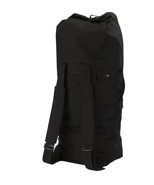 【正規品】ロスコ/ROTHCO GIスタイル 大容量 ダブルストラップ ダッフルバック バックパック 黒 2485