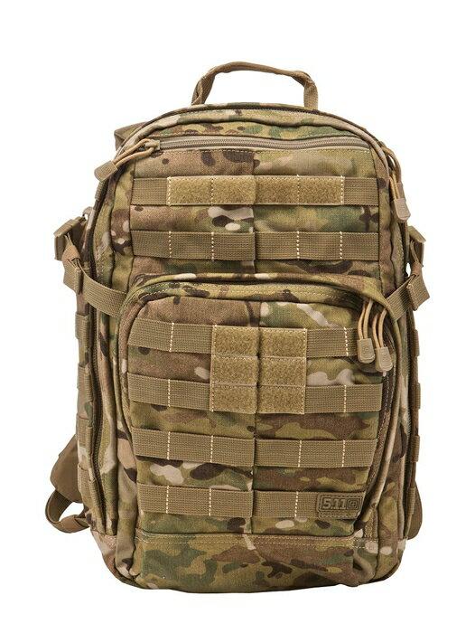 軍用 5.11 ファイブイレブン タクティカル ラッシュ12 バックパック バック マルチカム 56954