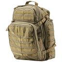 【送料無料】軍用 5.11 ファイブイレブン タクティカル ラッシュ72 バックパック バック サンドストーン 58602