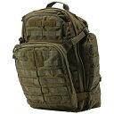 【送料無料】軍用 5.11 ファイブイレブン タクティカル ラッシュ72 バックパック バック OD 58602