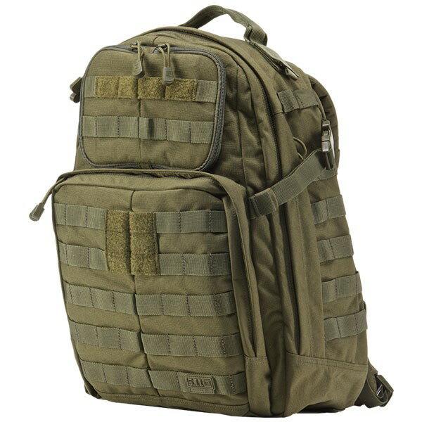 【送料無料】軍用 5.11 ファイブイレブン タクティカル ラッシュ24 バックパック バック OD 58601