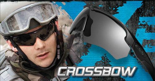 【PWコード入力で4%off】ESS クロスボウ Crossbow 3LS 防弾 サングラス 3種交換レンズ 740-0387 【日本正規品】【送料無料】