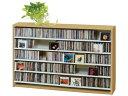 【送料無料】 CDラック 棚 CD収納 ラック 棚 横 ナチュラル スリム CD最大695枚収納可能 大容量 収納棚 CD dvd収納 dvd dvdラック 薄...