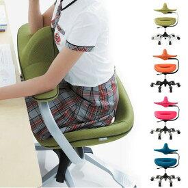学習チェア オフィスチェア 姿勢 キャスター付き椅子 チェア 学習椅子 パソコンチェア 子供 デスクチェア キャスター付き 背筋 チェア サポート おしゃれ キッズ こども ウリドルチェアー iPole7 ファブリックタイプ 一人暮らし OAチェア イス 北欧 いす