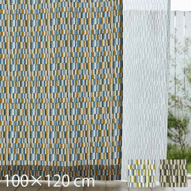 ドレープカーテン おしゃれ Tile タイル 100×120cm 日本製 既製 カーテン 北欧 レトロ 幾何学 2枚組 タッセル付き QUARTER REPORT クォーターリポート