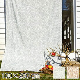カーテン 既成ドレープカーテン 2枚入り 2枚組 タッセル付き ナチュラル おしゃれ 一人暮らし 花柄 かわいい 女の子 子供部屋 キッズルーム 可愛い 100×200cm フラワー 北欧 QUARTER REPORT Kirie Kobana キリエコバナ 日本製