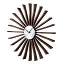 デザイナーズ 掛け時計 壁掛け時計 かわいい 掛時計 壁掛け 時計 Flutter Clock フラッタークロック ミッドセンチュリー ジョージネルソン Geo...