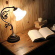 テーブルランプアンティークデスクライトフロアライト電気スタンドテーブルライトおしゃれレトロ学習机卓上ランプデスクランプ中間スイッチヨーロピアンFC-600A416洋風大人カワイイ卓上照明リビング用ダイニング用寝室用