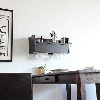 棚ティッシュケースウォールラック木製壁掛け石膏ボードウォールシェルフ飾り棚ホワイト調味料ラック壁面収納スパイスラックおしゃれ棚壁白北欧キッチン約幅60cm約奥行20cm約高さ30cm|インテリアオシャレウォールシェルフ壁に付けられる家具