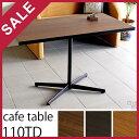ダイニングテーブル 110 食卓テーブル 一本脚 カフェテーブル 60 60cm 食卓用 カフェ風 ダイニング 1本脚 北欧 2人 2…