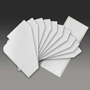 CDラック用 インデックス 追加分 プレート 10枚セット CD 見出しカード 収納 DVD収納 DVD CDラック CD収納 棚 INDEX ホワイト 白 見出し 索引 仕切り板 仕切り 板 分類 便利 便利グッズ ラベル 整理整
