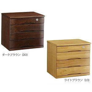 書類ケース 木製 書類 整理箱 ケース 引き出し デスクチェスト A4 4段 B4 鍵付き ミニチェスト 書類整理 完成品 キャビネット 卓上 オフィス