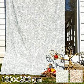 カーテン 既成ドレープカーテン 花柄 100×200cm フラワー 北欧 QUARTER REPORT Kirie Kobana キリエコバナ 日本製