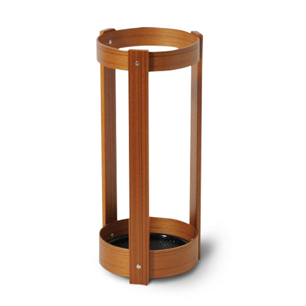 傘立て 木製 ウッド 傘たて 傘 チーク 収納 傘置き 傘スタンド スタンド 傘立 アンブレラホルダー 傘入れ 北欧 玄関 木 アンブレラスタンド インテリア コンパクト 玄関収納 スリム 省スペース かわいい おしゃれ デザイン アンブレラ 丸 円柱 サイトーウッド saito wood
