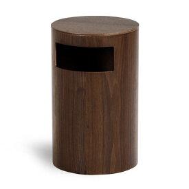 サイドテーブル ゴミ箱 ふた付き ベッド ふた付きゴミ箱 ごみ箱 ソファ おしゃれ 990WN ダストボックス 木製 リビング ウォールナット サイトーウッド saitowood テーブル ウッド 木 木目 ナチュラル インテリア 収納 寝室 SAITOWOOD