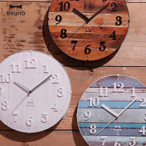 電波時計 木 壁掛け 西海岸 インテリア クロック 雑貨 掛時計 電波壁掛け時計 電波掛時計 ウォールクロック アンティーク 電波掛け時計 壁掛け時計 ナチュラル 北欧 BCR008 電波ビンテージウッドクロック